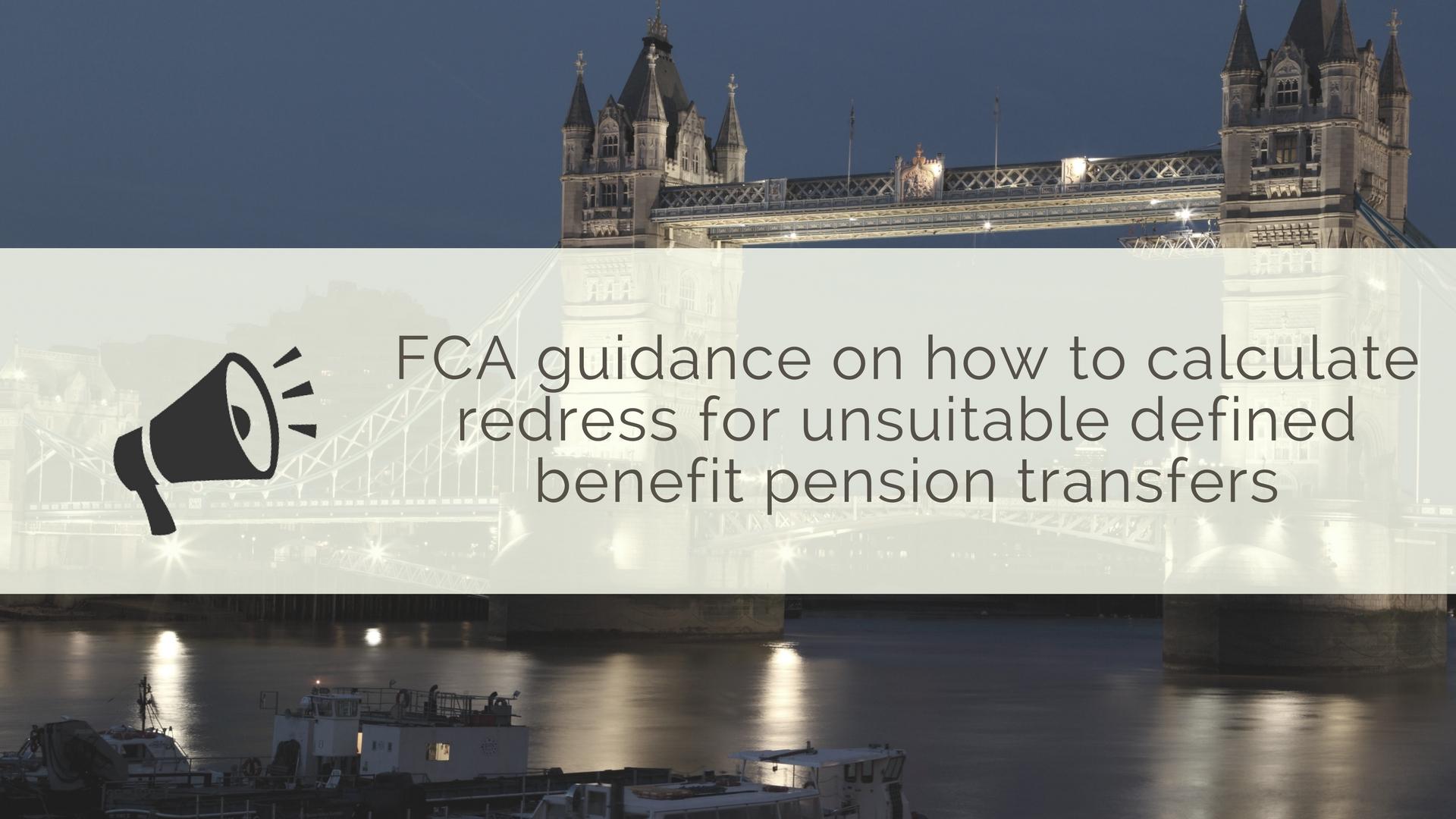 FCA final salary transfer announcement