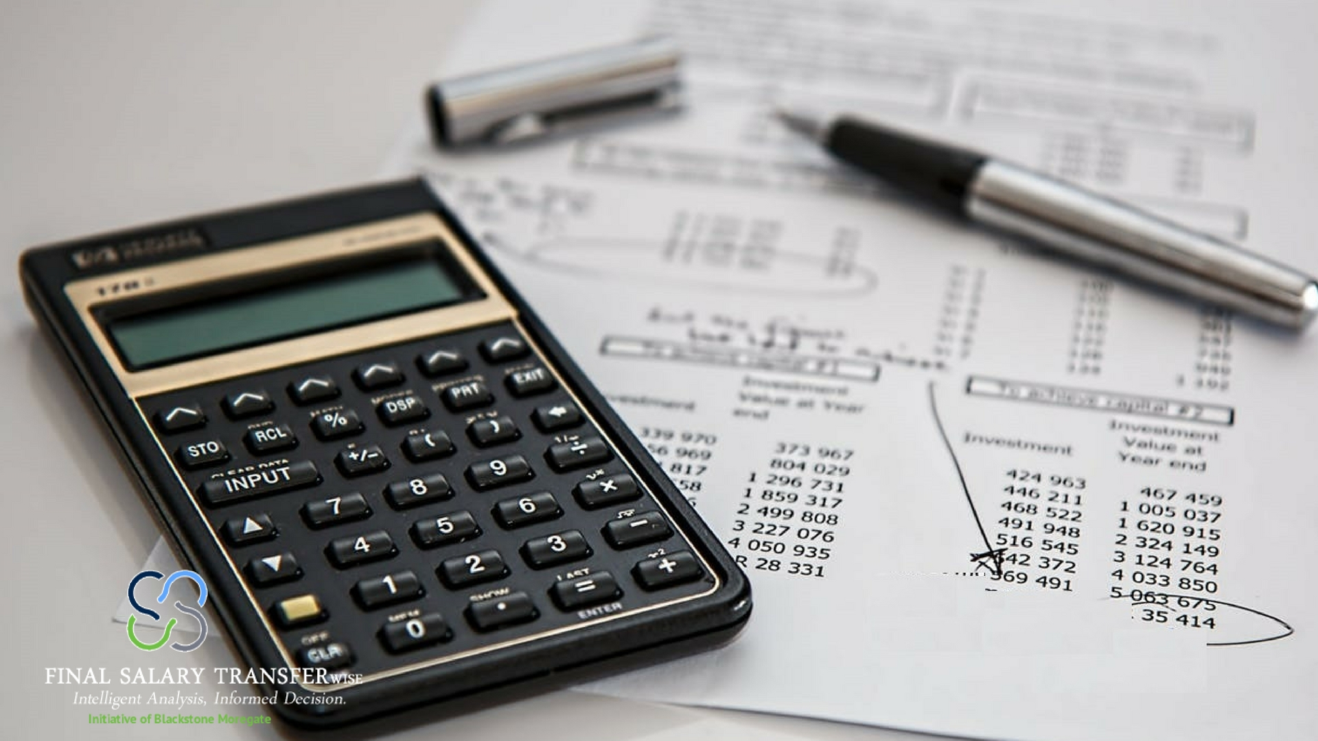 inal salary transfers are calculated